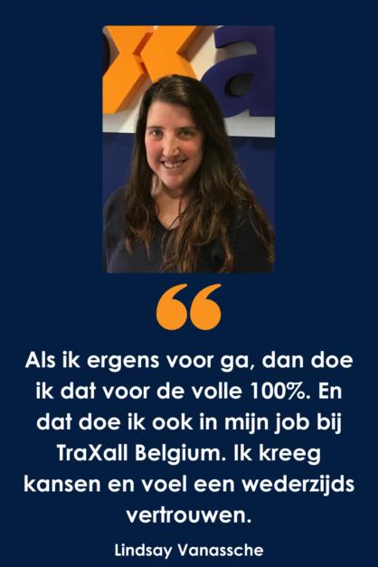 Wat doet een Cost Control & Database Specialist bij TraXall Belgium?
