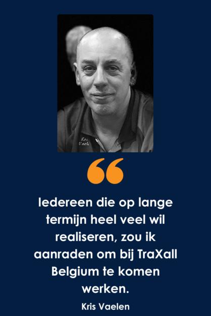 Wat doet een ICT'er bij TraXall Belgium?