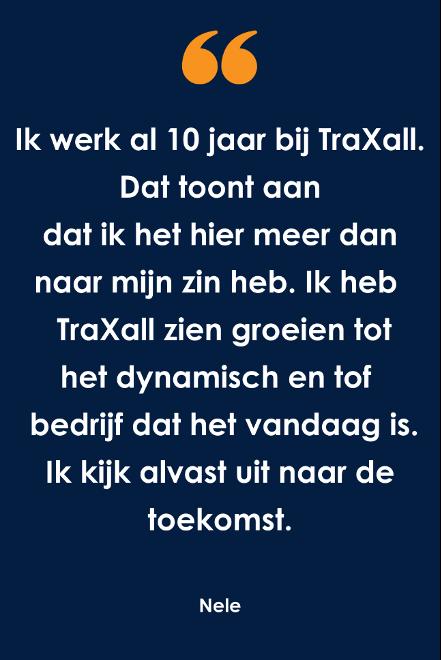 Wat doet een Team Leader bij TraXall Belgium?