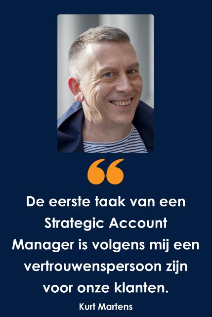 Wat doet een Strategic Account Manager bij TraXall Belgium ?