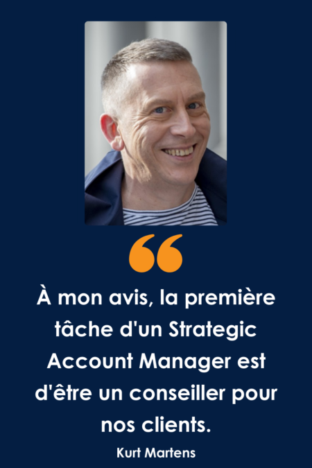 Que fait un Strategic Account Manager chez TraXall Belgium ?