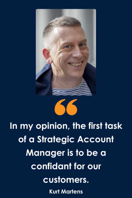 What does a Strategic Account Manager do at TraXall Belgium?