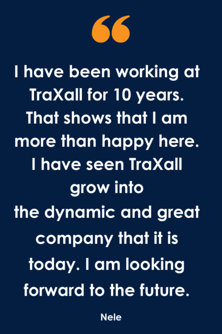 What does a Team Leader do at TraXall Belgium?